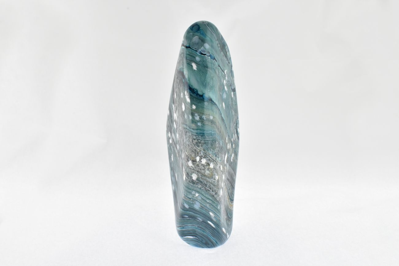 Standing Stone in mottled aqua